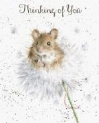 Wrendale Dandelion & Mouse Thinking of You Greeting Card